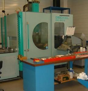 Kreier Mechanik CNC Bearbeitung Deckel Maho DC 50 V