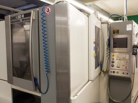 Kreier Mechanik Deckel Maho 100 Horizontal CNC Bearbeitung